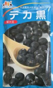 みかど協和  デカ黒   丹波黒系の大粒黒大豆の品種です。