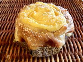 【メイプルカスタードロール】しっとりふわっとなメイプル生地&自家製カスタードの菓子パン