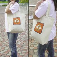 名入れバッグ【Mサイズ】オリジナルバッグトートバッグ写真プリントエコバッグオーダーメイドグッズ【メール便対応】【楽ギフ_名入れ】
