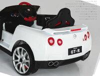乗用ラジコンGT-RR35NISSAN日産Wモーター&大型バッテリー正規ライセンス品のハイクオリティペダルとプロポで操作可能な電動ラジコンカーGT-R電動乗用玩具乗用玩具子供が乗れるラジコンカー送料無料