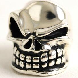 【中古】良品◆スターリンギア Puncher SlickSter Styler Ring パンチャースリックスター SV925 リング/指輪 シルバー 約15号サイズ 重量約58.4g メンズ