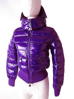 Light down jacket purple size 152 (12) extreme popularity with 2 beauty article △ MONCLER/ Monk rail ALTANA kids (lady's XS) food♪