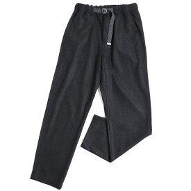 【中古】極美品◆LOUIS VUITTON ルイヴィトン ロゴ刺繍入り ベルト付き ウールパンツ ブラック 36 正規品 イタリア製 メンズ