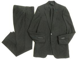 【中古】良品◎2007年製 Dior HOMME ディオールオム ナローラペル エディ期 シングルスーツ ブラック 44R 正規品 イタリア製