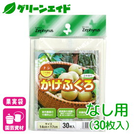 ナシ 果実袋 かけぶくろ なし用         30枚入 マツモト 果樹 保護袋 園芸
