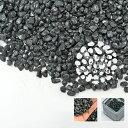 砂利 黒 ツキヨ(黒) 天然大理石 直径約9mm 10kg 庭 防犯 おしゃれ 石 メダカ めだか 水槽