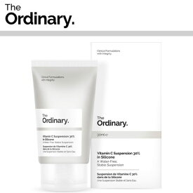 【海外メール便】 【The Ordinary.】Vitamin C Suspension 30% in Silicone DECIEM オーディナリー ディサイム お肌 美容 プチプラコスメ スキンケア