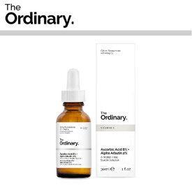 【海外メール便】 【The Ordinary.】Ascorbic Acid 8% + Alpha Arbutin 2% オーディナリー ディサイム お肌 美容 プチプラコスメ スキンケア
