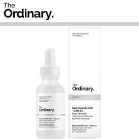 【海外メール便】【The Ordinary.】Niacinamide 10% + Zinc 1% 30ml DECIEM オーディナリー ディサイム お肌 美容 プチプラコスメ スキンケア