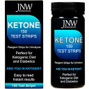 JNW Direct Ketone Test Strips 150 枚入り ケトン体 ケトン 試験紙 尿検査 ケト スティック ケトダイエット 検査 ケ…
