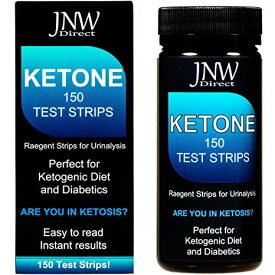 JNW Direct Ketone Test Strips 150 枚入り ケトン体 ケトン 試験紙 尿検査 ケト スティック ケトダイエット 検査 ケトン ケトーシス ダイエット 糖質制限
