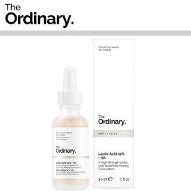 【海外メール便】【The Ordinary.】Lactic Acid 10% + HA 30ml DECIEM オーディナリー ディサイム お肌 美容 プチプラコスメ スキンケア