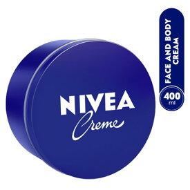 【海外発送】ニベアクリーム 大容量 400g NIVEA スキンケア ボディケア フェイスクリーム ボディクリーム スクワラン ホホバオイル 保湿