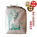 【新米】 もち米 みやこがねもち 玄米15kg(精米すると炊き上がり約9升分) 宮城県産【送料無料】【減農薬米】キャッシュレス5%還元対…