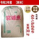 【新米】【令和2年産】みやこがねもちもち米玄米30kg×1袋小分けできます!宮城県産【宮城県_物産展】【送料無料】【…