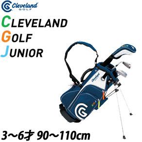 クリーブランド Clevelandゴルフ ジュニア スモール 3本セット [ウッド、I#7、パター、キャディバッグ付]