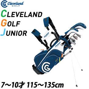 クリーブランド Clevelandゴルフ ジュニア ミディアム 6本セット [ドライバー ハイブリッド、I#7、I#9、ウエッジ パター、キャディバッグ付]