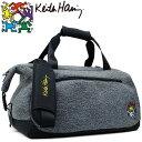 キースヘリング ゴルフ ボストンバッグ Star KHBB-03