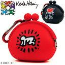 キースヘリング ゴルフ シリコン ボールポーチ Baby / Holding Heart KHBP-01
