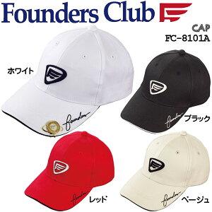 ファウンダースクラブ メンズ ゴルフウエア クリップ&マーカー付き キャップ FC-8101A