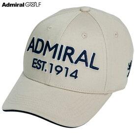 アドミラルゴルフ メンズ ツイルキャップ ADMB008F