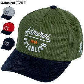 アドミラルゴルフ メンズ 異素材 キャップ ADMB059F