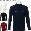 トミーヒルフィガー ゴルフ ウェア メンズ TH ロゴ ハイネック 長袖シャツ THMA072 2020年秋冬モデル M-XL 【あす楽対…