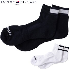 トミーヒルフィガー ゴルフ メンズ フラッグ ショートソックス THMB012F