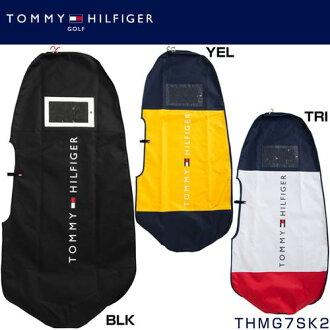 附带要点Up+折扣优惠券的tomihirufigagorufu TOMMY HILFIGER CONTRAST旅行覆盖物THMG7SK2◆高尔夫球高尔夫球用品高尔夫球袋盒子袋覆盖物旅行高尔夫球旅行情况