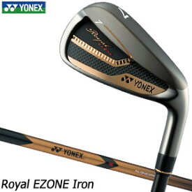 ヨネックス Royal EZONE アイアン 単品[#5、#6、AW、AS、SW] XELA for Royal シャフト