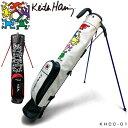 最大3000円クーポン付!キースヘリング ゴルフ スタンドクラブケース Dancing Dogs / 5Figs KHCC-01 【あす楽対応】