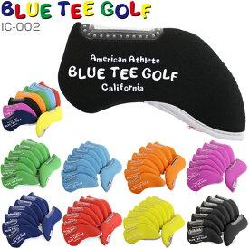 [セール]ブルーティーゴルフ ストレッチ アイアンカバー 8個セット IC-002