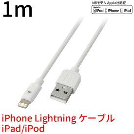 【送料無料・メーカー直販】1m Lightning-USB 充電・データ転送ケーブル GH-ALTUB1-WH | 1000円ポッキリ 千円ぽっきり 1000円 iphone ライトニング lightning ケーブル アイフォン スマホ 充電器 ケーブル グリーンハウス