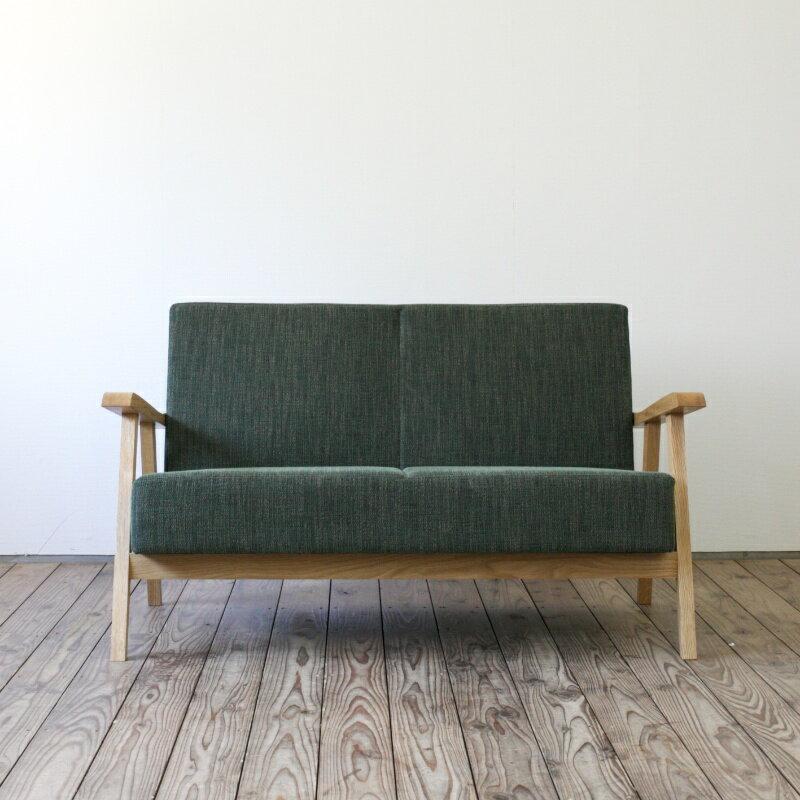 無垢材 ソファ Basic Sofa 2P 二人掛け オーク | ソファ 二人掛けソファ コーヒーテーブル リビング ダイニング 無垢 無垢家具 無垢材 シンプル ナチュラル 北欧 北欧家具 おしゃれ 家具 インテリア 木製 木 カフェ カフェ風