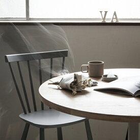 カフェテーブル φ 70cm オーク   テーブル コーヒーテーブル リビングテーブル ダイニングテーブル ラウンドテーブル 円卓 無垢 無垢材 シンプル ナチュラル 北欧 おしゃれ 脚 1本脚 天板 家具 インテリア 木製 木 リビング カフェ カフェ風