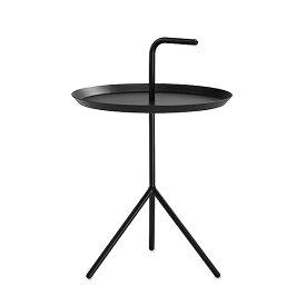 【 送料無料 】 HAY (ヘイ) サイドテーブル DLM SIDE TABLE ブラック パウダー仕上げ φ380mm | テーブル リビングテーブル コーヒーテーブル リビング ダイニング 北欧家具 インテリア スチール 黒 インダストリアル シンプル おしゃれ デンマーク 北欧