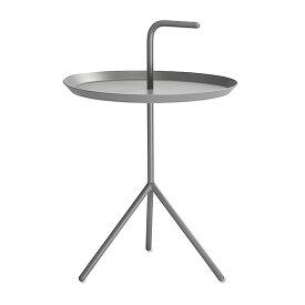 【 送料無料 】 HAY (ヘイ) サイドテーブル DLM SIDE TABLE XL グレー パウダー仕上げ Φ480 | テーブル リビングテーブル コーヒーテーブル リビング ダイニング 北欧家具 インテリア スチール インダストリアル シンプル おしゃれ デンマーク 北欧