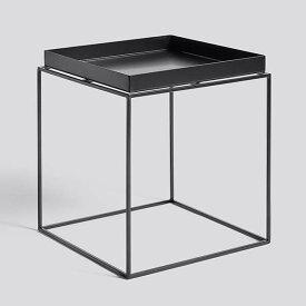 【 送料無料 】 HAY (ヘイ) トレイテーブル Mサイズ ブラック | TRAY TABLE テーブル サイドテーブル リビングテーブル コーヒーテーブル リビング 北欧家具 M 黒 インテリア ナチュラル シンプル おしゃれ 北欧
