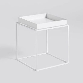 【 送料無料 】 HAY (ヘイ) トレイテーブル Sサイズ ホワイト | TRAY TABLE テーブル サイドテーブル リビングテーブル コーヒーテーブル リビング 北欧家具 S 白 インテリア ナチュラル シンプル おしゃれ 北欧