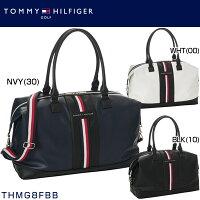 TommyHilfigerTHMG8FBBトミーヒルフィガーフロントテープボストンバッグ