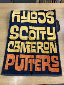 スコッティキャメロン グラフィティ オレンジ ゴルフ タオル ScottyCameron Graffiti Orange Golf Towel