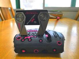 【エントリーで全品ポイント10倍★7月1日-8月1日9:59まで】スコッティキャメロン ファントム X 5 MOTO ScottyCameron PHANTOM MAT PINK33 マットピンク パター 女性 レディース ウィメンズ