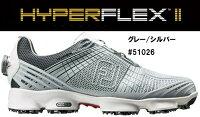 FOOTJOYHYPERFLEX2boaフットジョイハイパーフレックスボアグレーシルバーシューズメンズレディースゴルフ51026
