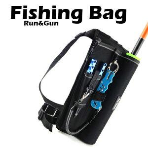フィッシングバッグ 釣りバッグ タックルバッグ ランガンレッグバッグ