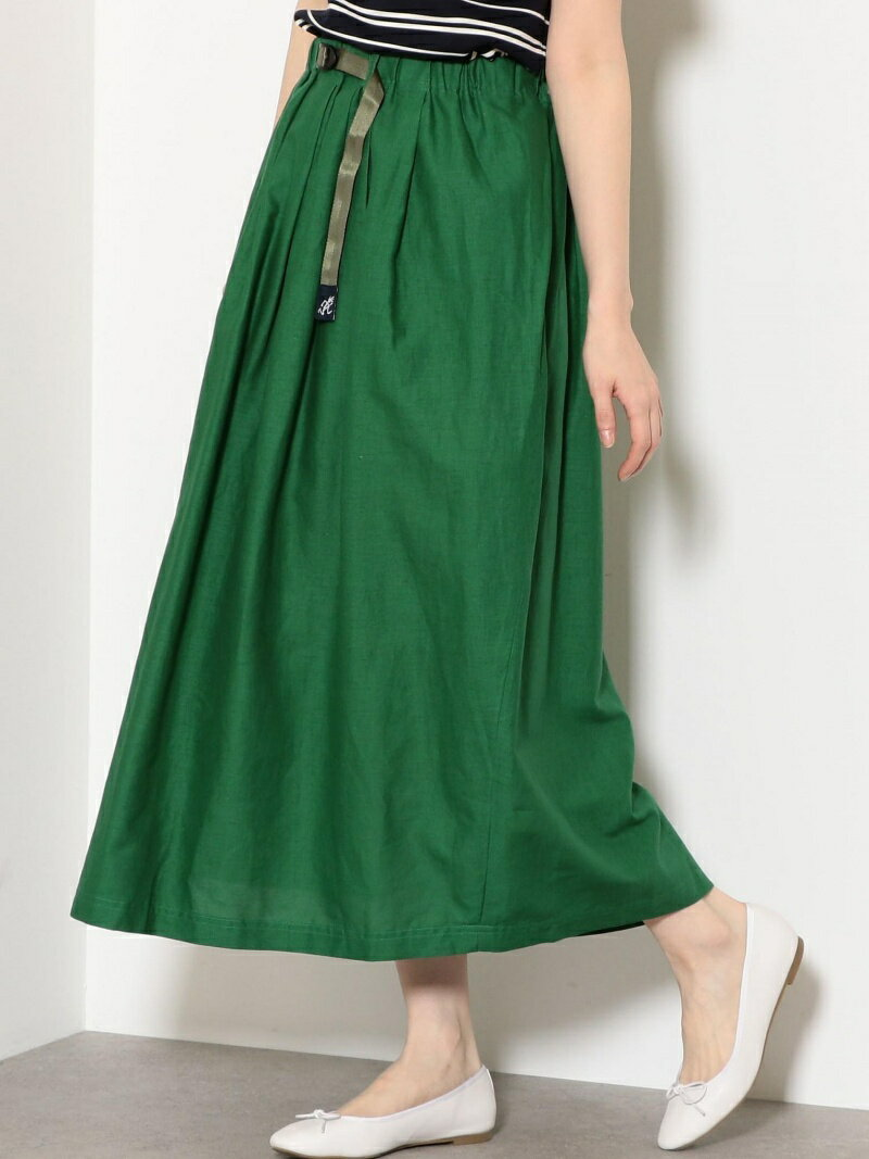 [Rakuten BRAND AVENUE][別注グラミチ]SC GRAMICCI×GL フレア スカート UNITED ARROWS green label relaxing ユナイテッドアローズ グリーンレーベルリラクシング スカート【送料無料】