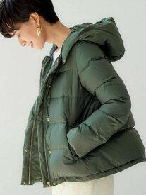 [Rakuten Fashion]◆CFCハッスイフードショートダウンジャケット※ UNITED ARROWS green label relaxing ユナイテッドアローズ グリーンレーベルリラクシング コート/ジャケット ダウンジャケット グリーン ブラック【送料無料】