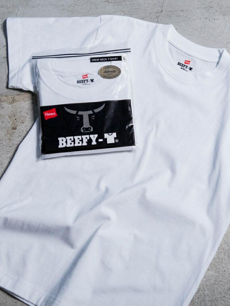 [Rakuten BRAND AVENUE]別注 【WEB限定】 [ヘインズ] SC★★ Hanes BEEFY-T GLR / Tシャツ UNITED ARROWS green label relaxing ユナイテッドアローズ グリーンレーベルリラクシング