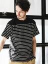 UNITED ARROWS green label relaxing 【WEB限定】 [チャンピオン] BC★★CHAMPION FB ボーダー Tシャツ ユナ...