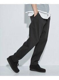 [Rakuten Fashion][サンニーワークス]SC★3/2WORKS GLR ストレッチ チノ パンツ UNITED ARROWS green label relaxing ユナイテッドアローズ グリーンレーベルリラクシング パンツ/ジーンズ チノパンツ ブラック グレ【送料無料】