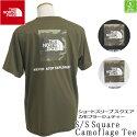 メール便送料無料ザノースフェイスTHENORTHFACETシャツショートスリーブスクエアカモフラージュティー(メンズ)S/SSquareCamoflageTeeフェスキャンプ速乾ミリタリーテイストNT32158